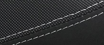 シートの材質、滑り止め加工。