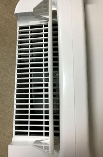90度状態が一番除湿能力が高い。