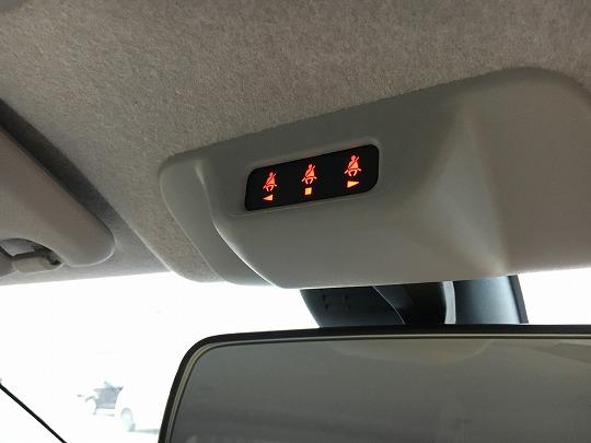 パッソのシートベルト警告表示
