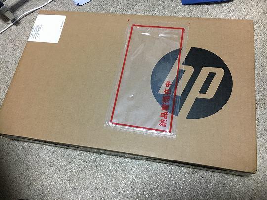 HP 14s-dk0101AUの箱