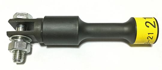 ジャッキヘルパーはソケットでも使用可能。