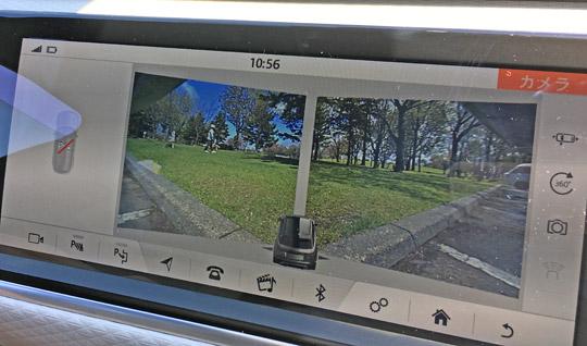 ヴェラールのフロント左右カメラ