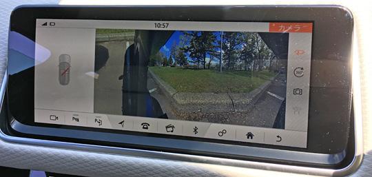 ヴェラールのフロントカメラ2画面