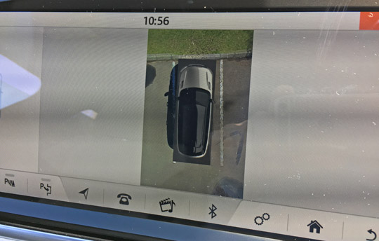 ヴェラールの360度アラウンドビューカメラ