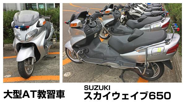 大型自動二輪ATスクーター、スカイウェイブ650
