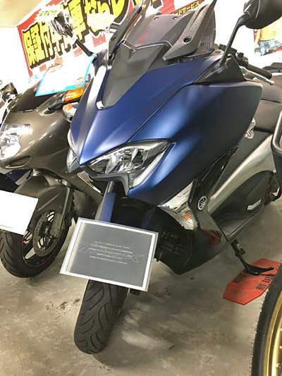 ヤマハのフラッグシップスクーター、TMAX