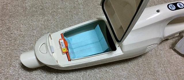 マキタ掃除機の紙パック式モデル