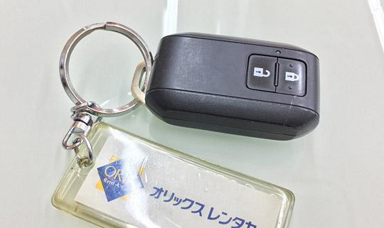 6代目ワゴンRFXの電子キー