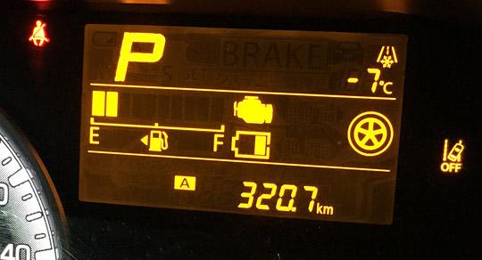 ワゴンRで実燃費の計算。