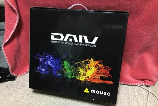 パソコンはマウスコンピューター