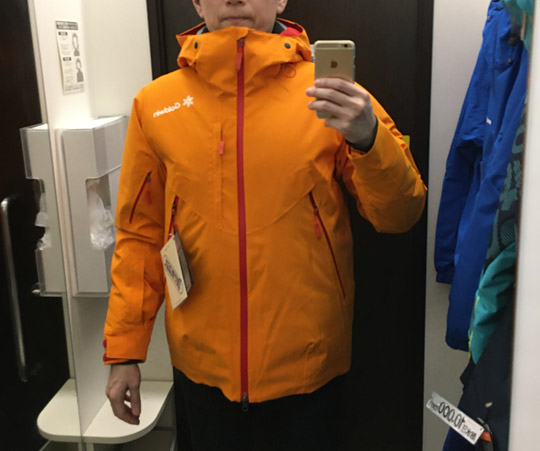 ゴールドウィンのスキージャケット2