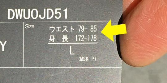 デサントスキーパンツのLサイズ2