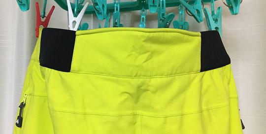 パンツ腰のデザイン