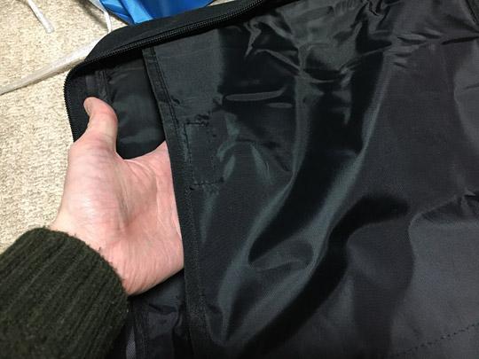 ポケットは3つあります。