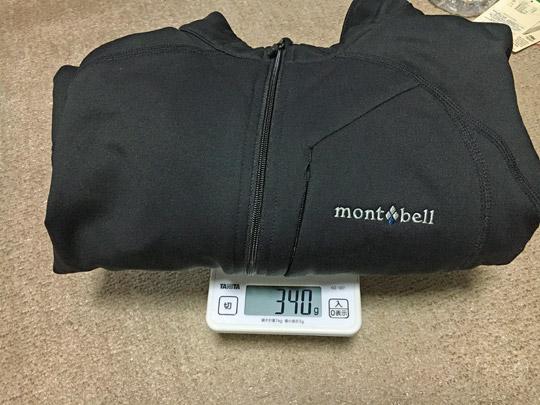 重量は340g